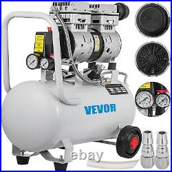 Whisper Silent Air compressor 30 Liter oil free Low noise 750W