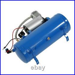 Workshop 6 Liter Tank Tire Inflator12V 150psi Air Compressor Air Horn Less Noise